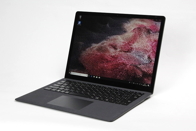 【実機レビュー】 Microsoft Surface Laptop 2